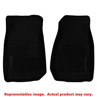 Husky Liners 53571 Black X-act Contour Front Floor Line FITS:JEEP 2007 - 2014 W