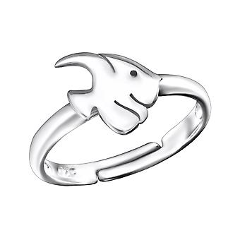 Fish - 925 Sterling Silver Rings - W28101x