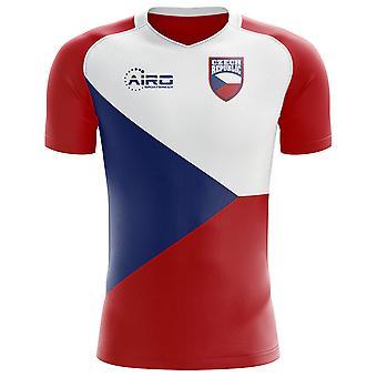 2018-2019 الجمهورية التشيكية مفهوم الوطن القميص لكرة القدم