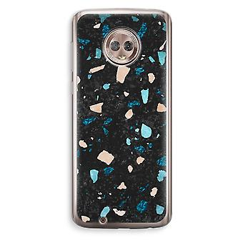 Motorola Moto G6 Transparent Case (Soft) - Terrazzo N°11
