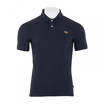 Napapijri Mens Taly Stretch Polo Shirt (Navy)