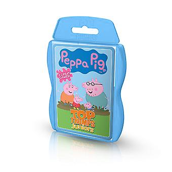 Top Trumps Peppa Pig Junior aktivitet Pack kortspel