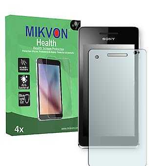 Sony Xperia VL Screen Protector - Mikvon Health (Retail Package with accessories)