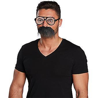 Glasögon och skägg som tillbehör Carnival Halloween