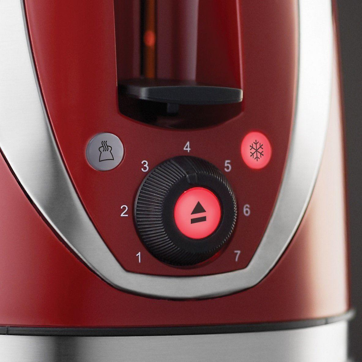 Russell Hobbs 21410 Mode 2 Slice Toaster - Red