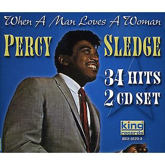 Percy Sledge - wanneer een Man Loves a Woman [CD] USA importeren