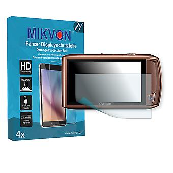 Canon PowerShot ELPH 500 HS Screen Protector - Mikvon Armor Screen Protector (Retail Package with accessories)