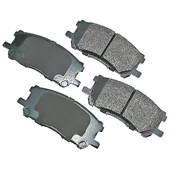 Akebono ACT1005 ProACT Ultra-Premium Ceramic Brake Pad Set