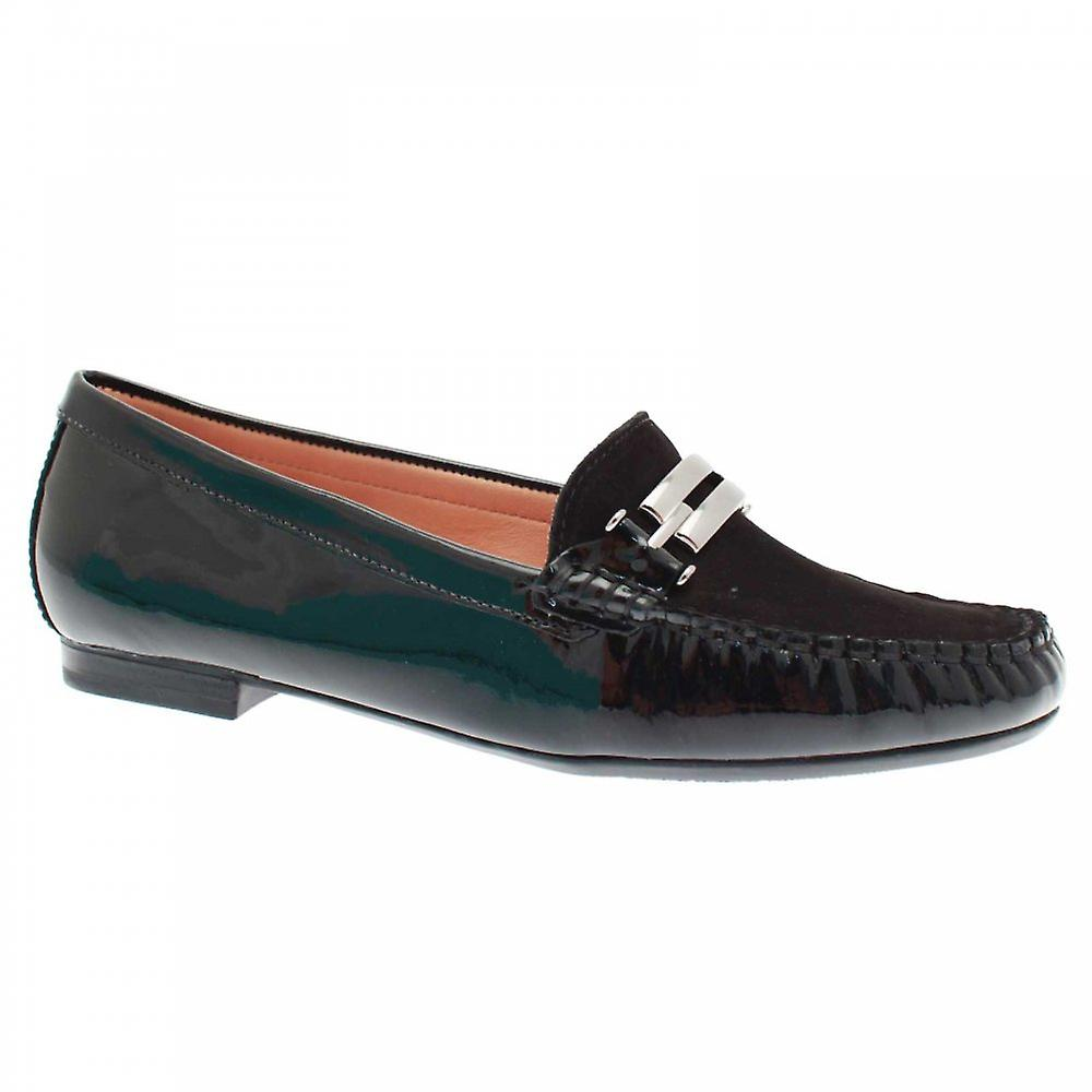 Lisa Kay donna& 039;s Buckle Detail Flat Moccasin scarpe | Ricca consegna puntuale  | Uomini/Donne Scarpa