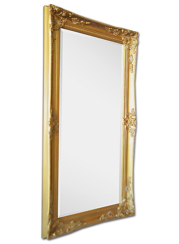 Italie les motifs miroir en or, dimensions 59 x 109 cm