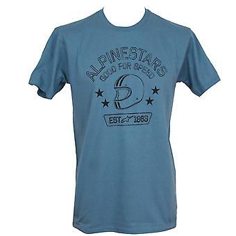 Alpinestars Men's T-Shirt ~ School slate