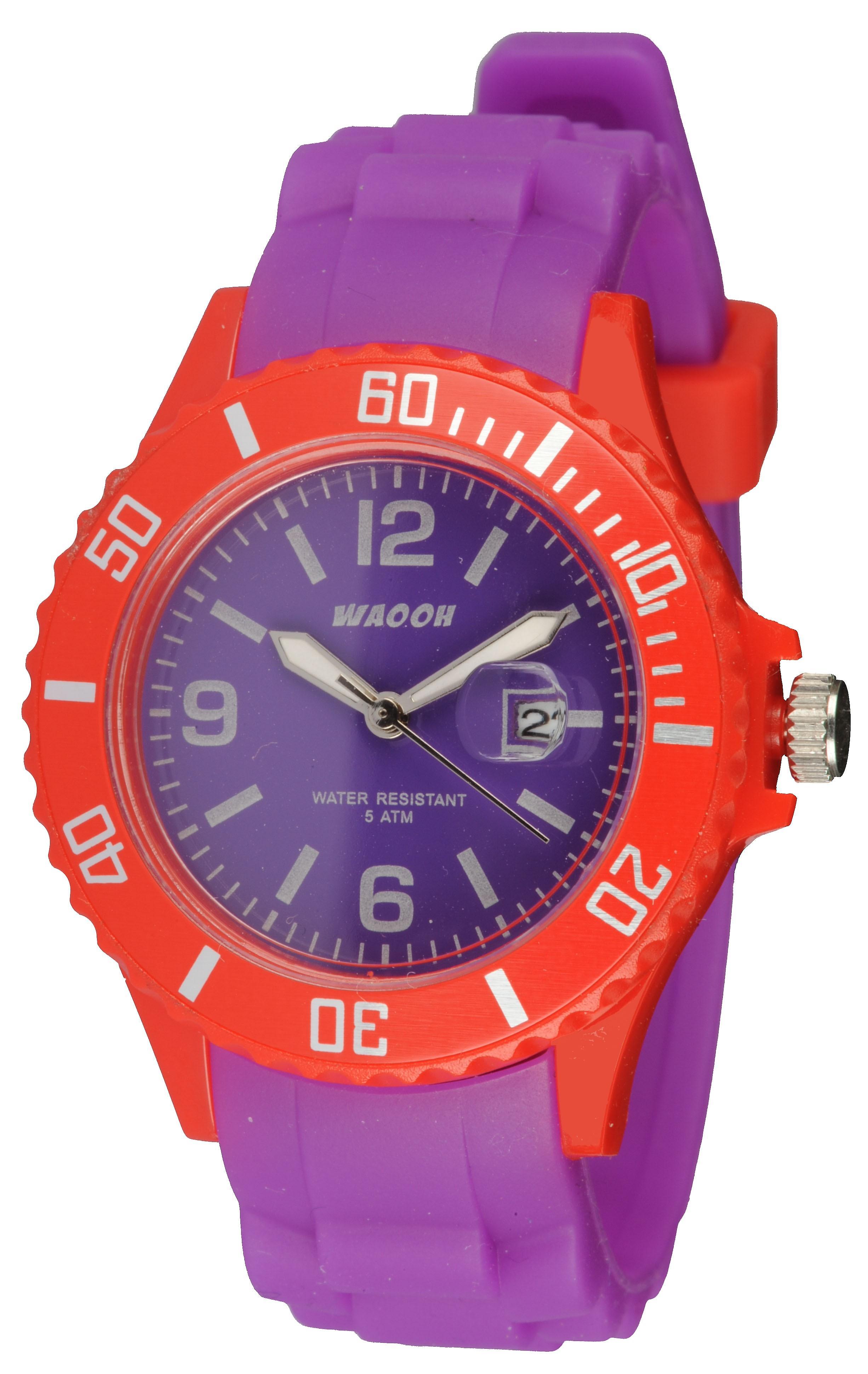 Waooh - Watch Silikon Monaco34 Bicolore