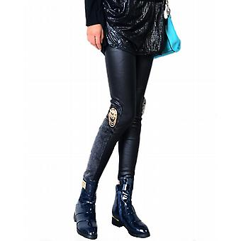 Waooh - Fashion - Satin Leggings skull and fur
