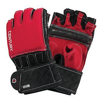 Jahrhundert Brave Griffstangen Handschuhe rot/schwarz