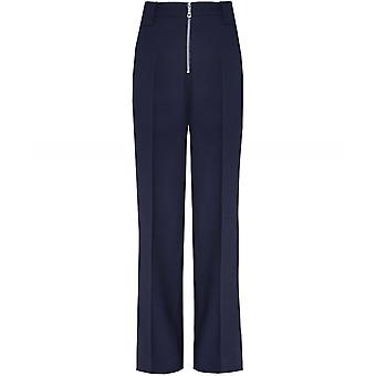 Victoria Victoria Beckham jomfru uld blanding Front Zip bukser