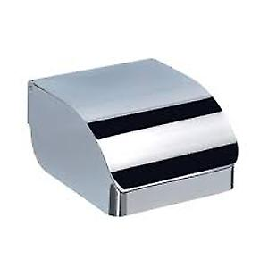 Gedy Covered Toilet Roll Holder Chrome 252513