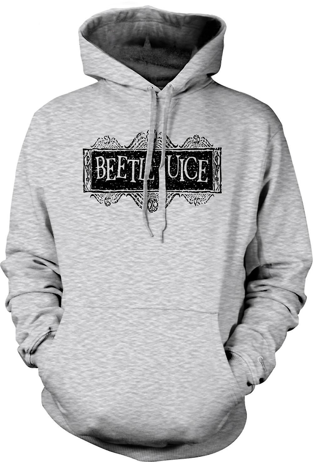 Mens Hoodie - Beetlejuice - komedi - skräck - Funny