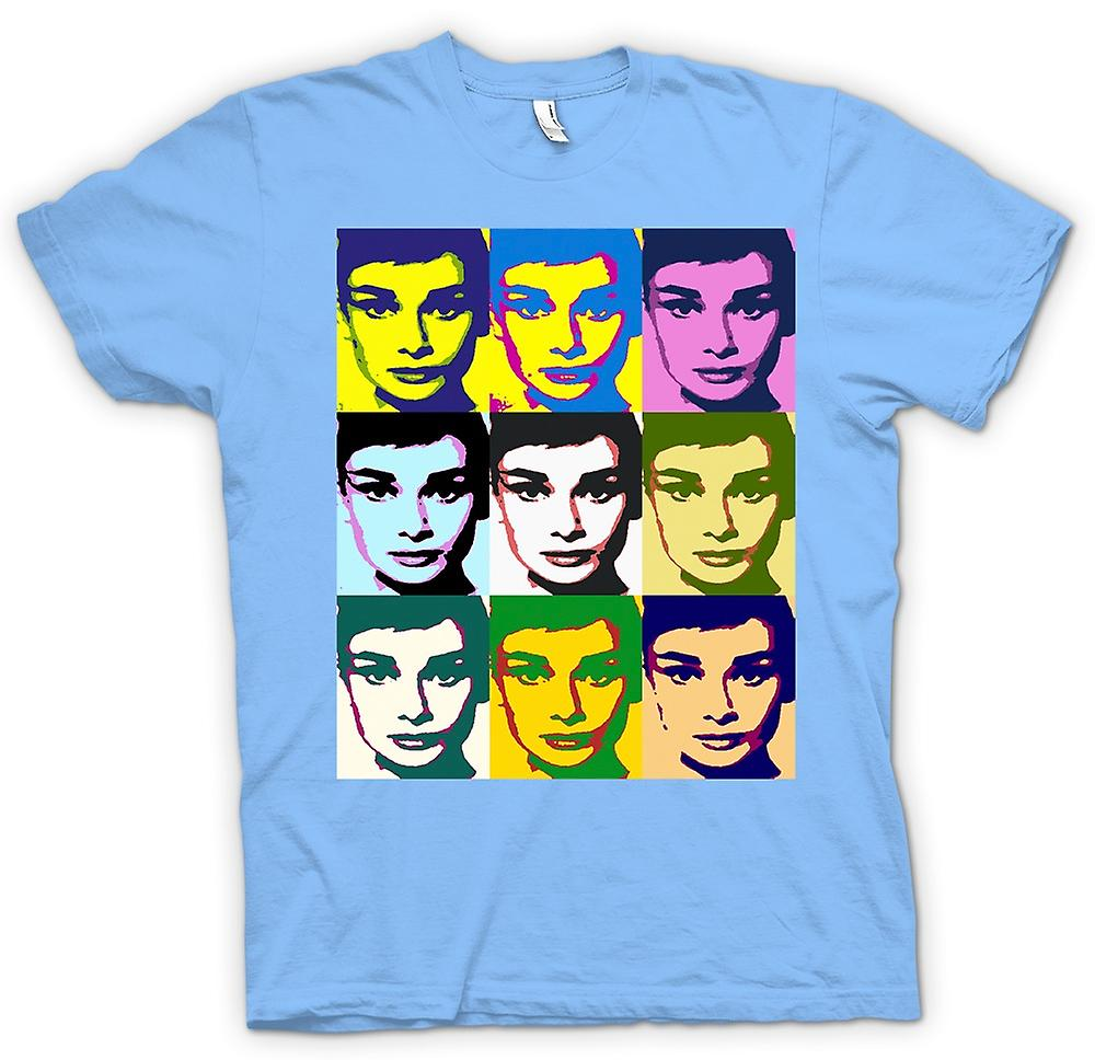 Mens T-shirt - Audrey Hepburn Legend - Pop Art