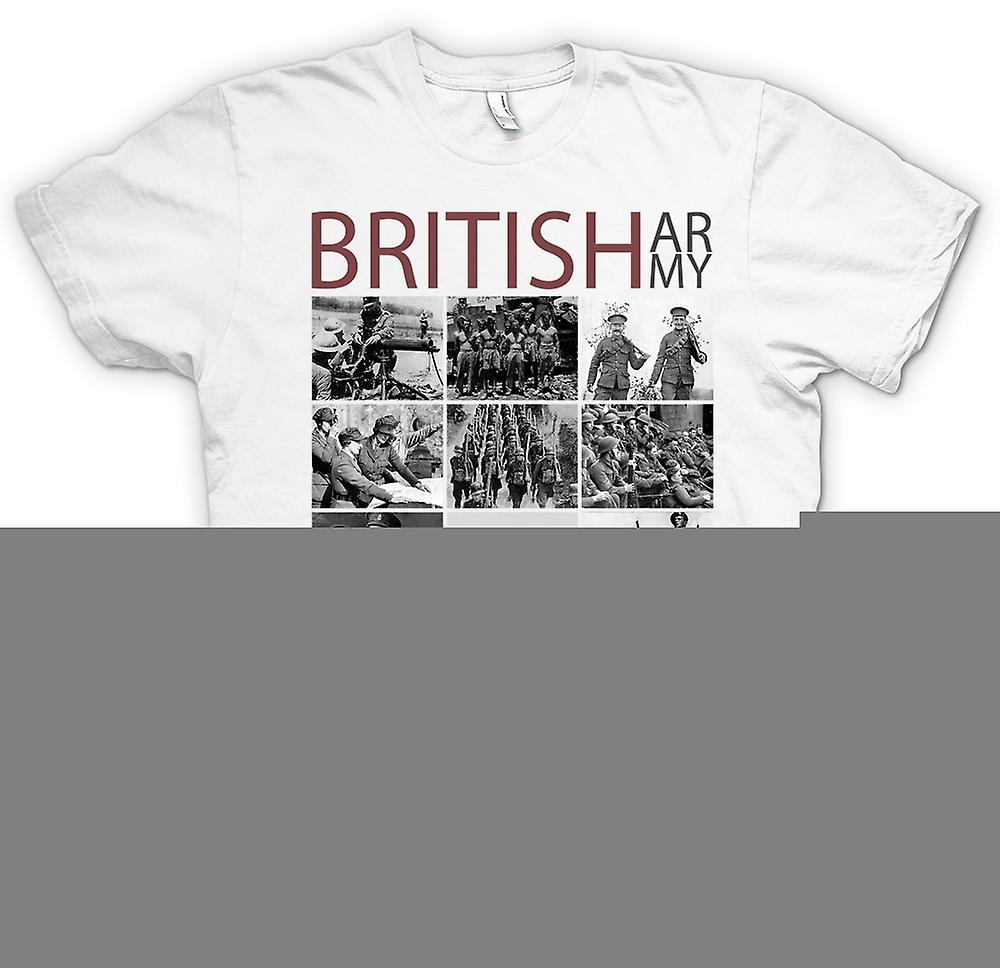 Herr T-shirt - World War 2 - den brittiska armén