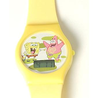 Spongebob Squarepants Yellow Strap Digital Kids Watch 9517