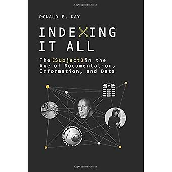 Indexing it All: The Subject in the Age of Documentation, Information, and Data (History and Foundations of Information...