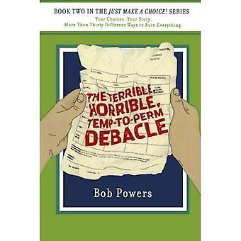 Schrecklich, schrecklich, Temp-Perm-Debakel: Buch 2 in die machen eine Wahl! Serie