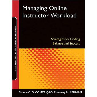 Managing Online Instructor Workload: Strategies for Finding Balance and Success