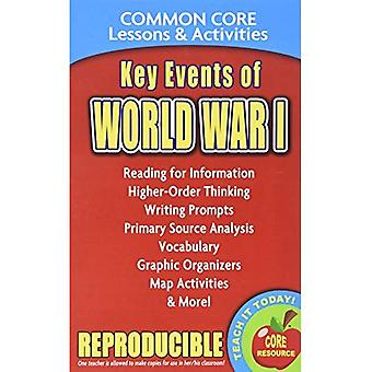 Key Events of World War I - Common Core Lessons & Activities