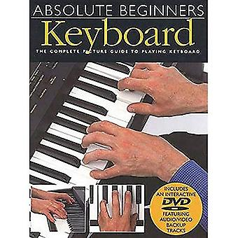 Absolute Beginners Keyboard + DVD
