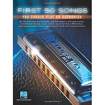 Ersten 50 Songs sollte man an der Mundharmonika spielen