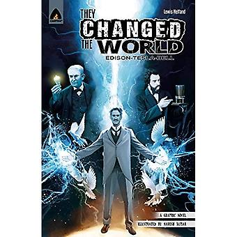 They Changed the World: Bell, Edison and Tesla (Campfire Heroes)