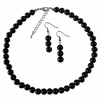 Black Pearl Wedding Jewelry Under $10 Necklace Set The Least Expensive Pearl Wedding Bridesmaid