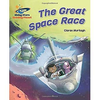 Lezing planeet - de grote ruimte Race - Turquoise: Galaxy (Rising Stars planeet lezen)