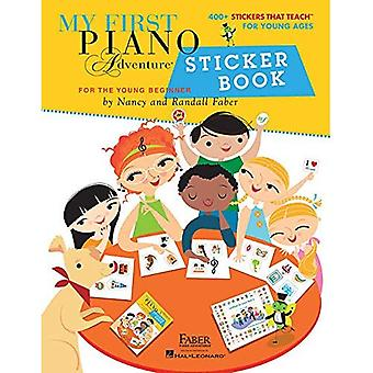 My First Piano Adventure: Sticker Book