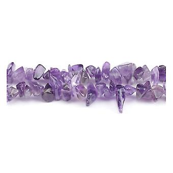 Long Strand 240+ Purple Amethyst 5-8mm Chip Beads GS3244