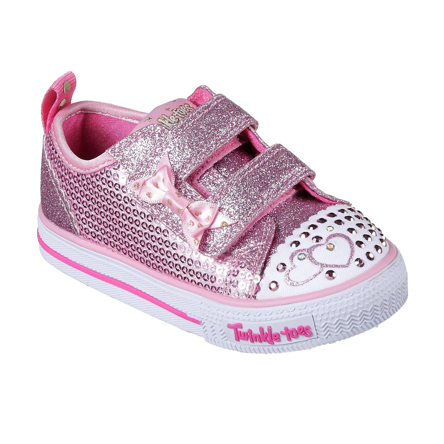 Skechers Enfants Twinkle Toes Itsy Bitsy chaussures Infant Girls