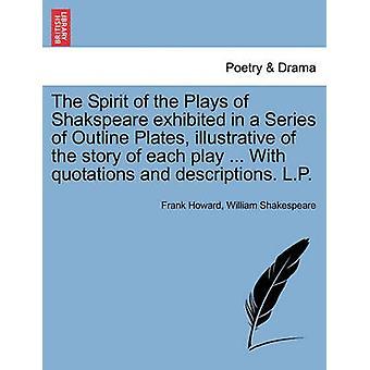 Ånd spiller av Shakspeare utstilt i en serie av disposisjon plater illustrerende for historien om hver spiller... Med tilbud og beskrivelser. LP av Howard & Frank