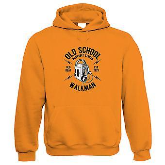 Old School Walkman Hoodie | Timeless Retro Vintage Iconic Seminal Memorable  | Rap Rock Indie Pop Funk Punk Blues Jazz Hip-hop  | Music Gift Him Her