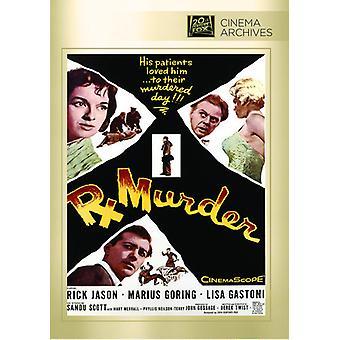 Rx Murder [DVD] USA import