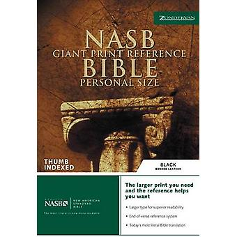 NASB Reference Bible - Personal Size (Large Print edition) by Zonderva