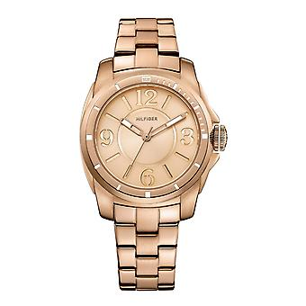 Tommy Hilfiger Ladies' montre de sport en or rose (1781141)