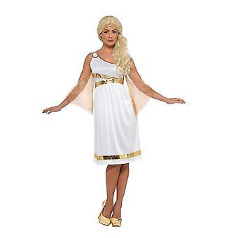 Grecian Costume, Roman/Greek/Toga Fancy Dress, Toga, UK Size 8-10
