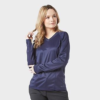 New Peter Storm Women's Long Sleeve Tech Tee Navy