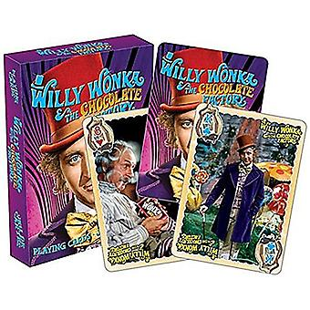 Playing Card - Willy Wonka - Youth Poker Games New Licensed 52477