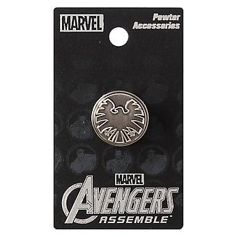 Pin - Marvel - Avengers - Shield Eagle Logo Metal New Toys Gifts Licensed 67974