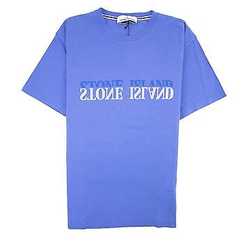 Stone Island Graphic Six T-shirt Blue V0043