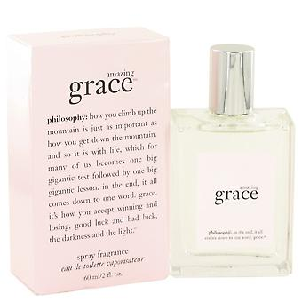 Amazing Grace by Philosophy Eau De Toilette Spray 2 oz / 60 ml (Women)