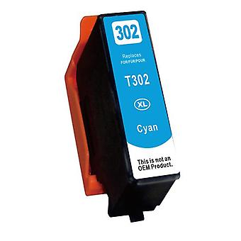 Cyan Compatible Inkjet Cartridge Replacement For 302XL