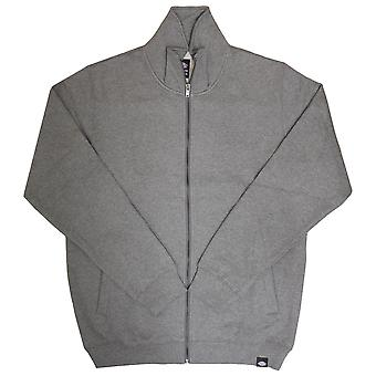 Dickies Mikana Zip Up Sweatshirt Dark Grey Mel