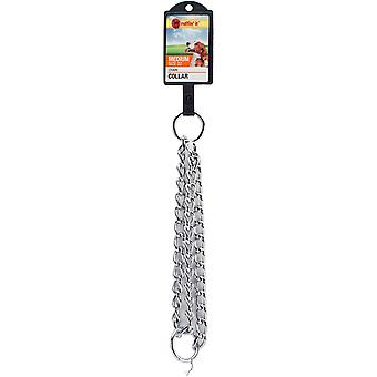 Heavy Weight Medium Dog Chain Collar 22